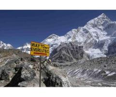 Trekking in Everest Region of Nepal