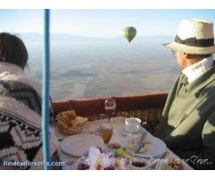Hot Air Ballooning Over Morocco