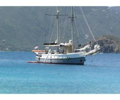 Clothing Optional Caribbean Schooner