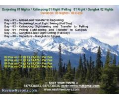 Darjeeling Tour Package from East View Travel