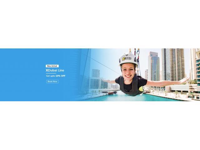 XLine Dubai Marina Zipline Tickets