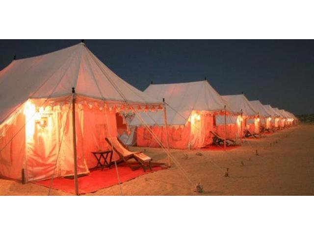 Desert Camp Jaisalmer : Luxury Desert Camp Jaisalmer