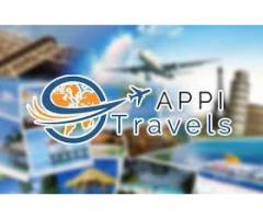 Book with APPI Travels