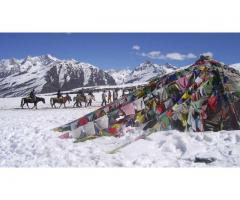Himachal Tour with Kufri, Solang Valley & Camp; Rohtang