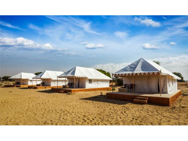 Camp In Sam Sand Dunes : Luxury Camps In Sam Sand Dunes