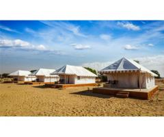 Camp In Sam Sand Dunes : Luxury Camps In Sam Sand Dunes