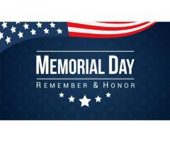 Looking for Memorial Day Flight Offers?