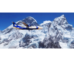Mountain Flight for Everest Scenic View!