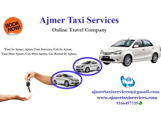 Taxi in Ajmer , Car Rental services in Ajmer , Ajmer Car Rental