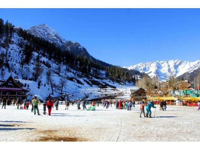 Winter Manali Volvo Packages