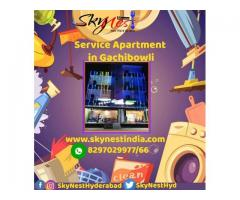 Fully Furnished Service Apartments in Hyderabad | Skynest Service Apartments
